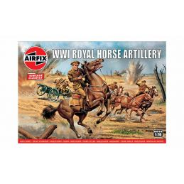 Airfix WW1 Royal Horse Artillery 1:76 Scale Plastic Model Kit