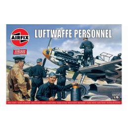 Airfix Luftwaffe Personnel 1:76 Scale Plastic Model Kit