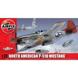 Airfix North American P-51D Mustang 1 72 Scale Plastic Model Kit
