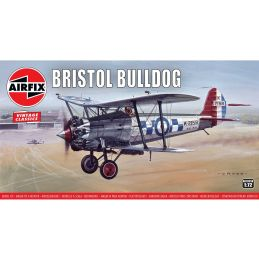 Airfix 1:72 Scale Bristol Bulldog Plastic Model Kit
