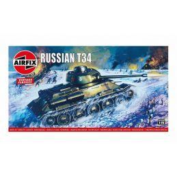 Airfix Russian T34 Plastic Model Kit