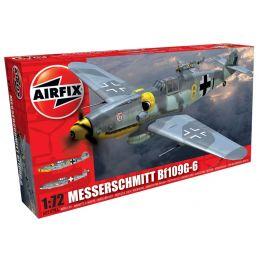 Airfix Messerschmitt Bf109G-6  1:72 Scale Plastic Model Kit