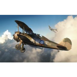 Airfix Gloster Gladiator Mk.I/Mk.II 1:72 Scale Plastic Model Kit