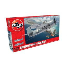 Airfix Grumman F4F-4 Wildcat 1:72 Scale Plastic Model Kit