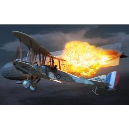 Airfix Royal Aircraft Factory BE2c  1:72 Scale Plastic Model Kit