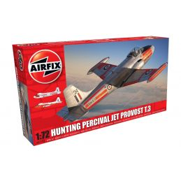 Airfix Hunting Percival Jet Provost T.3/T.3a  1:72 Scale Plastic Model Kit