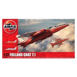 Airfix Folland Gnat T.1 1:72 Scale Plastic Model Kit