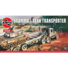 Airfix Scammell Tank Transporter 1:76 Scale Plastic Model Kit