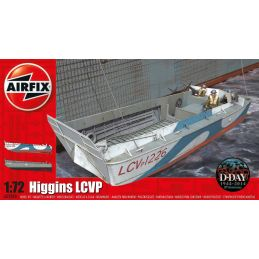 Airfix Higgins LCVP 1:72 Scale Plastic Model Kit