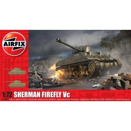 Airfix 1:72 Scale Sherman Firefly Plastic Model Kit