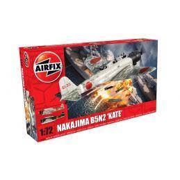Airfix Nakajima B5N2 'Kate'  1:72 Scale Plastic Model Kit