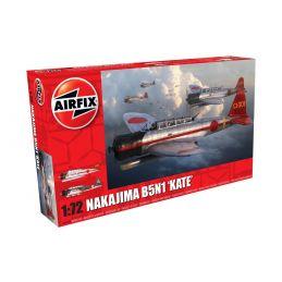 "Airfix Nakajima B5N1 ""Kate""  1:72 Scale Plastic Model Kit"