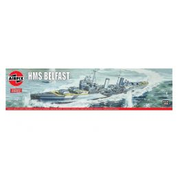 Airfix HMS Belfast 1:600 Scale Plastic Model Kit