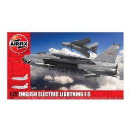 Airfix English Electric Lightning F6 1:72 Scale Plastic Model Kit