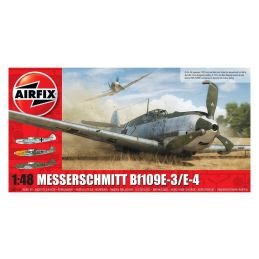 Airfix Messerschmitt Me109E-4/E-1  1:48 Scale Plastic Model Kit