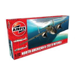Airfix North American B25C/D Mitchell 1:72 Scale