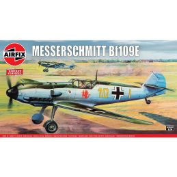 Airfix 1/24 Scale Messerschmitt Bf109E Plastic Model Kit