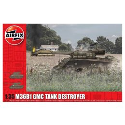 Airfix M36B1 GMC (U.S. Army) 1:35 Scale Plastic Model Kit