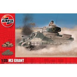 Airfix 1/35 Scale M3 Lee / Grant Plastic Model Kit
