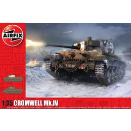 Airfix 1/35 Scale Cruiser Tank Mk.VIII A27M Cromwell Mk.IV