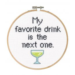 Cross Stitch - Favourite Drink