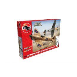 Airfix Supermarine Spitfire MkVb Messerschmitt Bf109E4 Dogfight Doubles