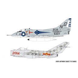 Airfix Mig 17 & Douglas Skyhawk Dogfight Double