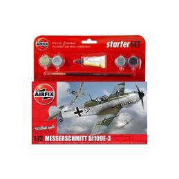 Airfix Small Starter Set Messerschmitt Bf109E-3