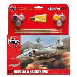 Airfix Medium Starter Set Douglas A4 B Skyhawk