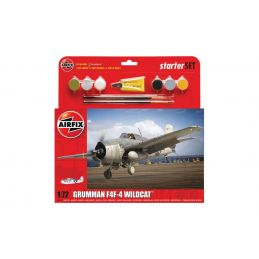 Airfix Medium Starter Set Grumman F4F 4 Wildcat