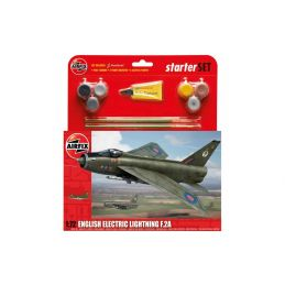 Airfix Large Starter Set English Electric Lightning F 2A