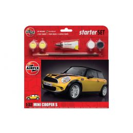 Airfix Large Starter Set MINI Cooper S