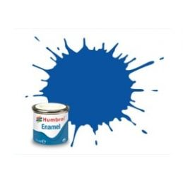 Humbrol Enamel 14ml Tin - No. 14 French Blue - Gloss