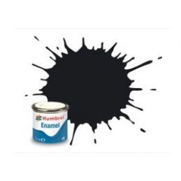 Humbrol Enamel 14ml Tin - No. 21 Black - Gloss