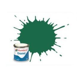 Humbrol Enamel 14ml Tin - No. 30 Dark Green - Matt