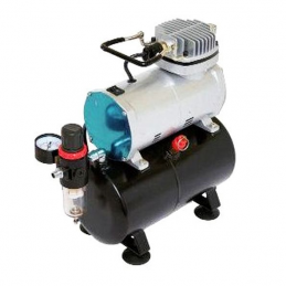 Airbrush and Compressor with Tank Deal