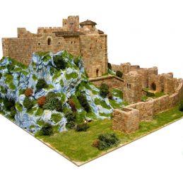 Aedes Ars Loarre Castle Architectural Brick Model Kit