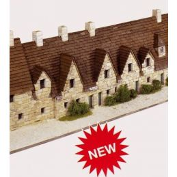 Aedes Ars Bibury Arlington Row Architectural Model Kit