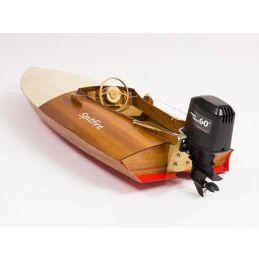 Aeronaut Spitfire Vintage Outboard Racing Boat Model Boat Kit