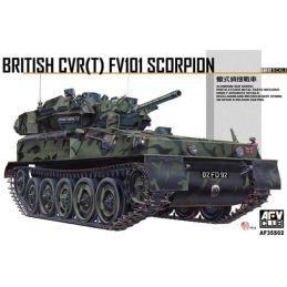 AFV Club British CVR(T) FV101 Scorpion Plastic Kit - Starter Paint Pack (5 x 17ml Bottles)