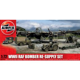 Airfix Bomber Re-supply Set 1:72 Scale Plastic Model Kit