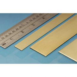 Albion Alloys Brass Strips 305mm Length - 6 x 0.8mm