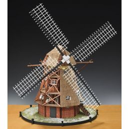 Amati Dutch Windmill 30th Scale Quality Wooden Model Kit