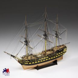 Victory Models HMS Vanguard Wooden Model Ship Kit