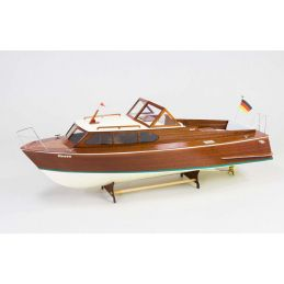 Aeronaut Queen Sports Speed Boat 1960s Model Boat Kit - Suitable for Radio Control