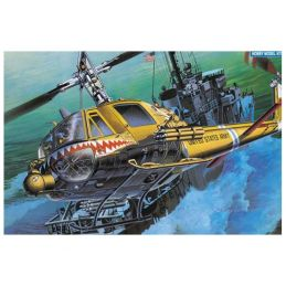 Academy 1/35 Scale US Army UH-1C Frog (Huey) Plastic Model Kit