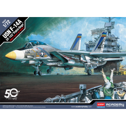 Academy Models USN F-14A Tomcat VF-143 Pukin' Dogs Kit