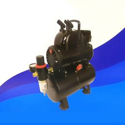 Badger 1100 High Quality Anti Pulsation Airbrush Compressor