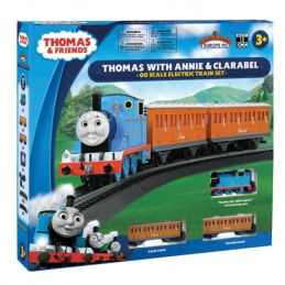 Thomas with Annie and Clarabel - moving eyes DCC Ready OO Gauge
