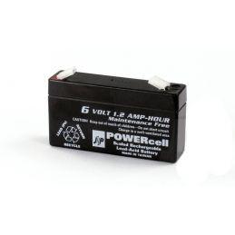 6V-1.2 Ah Powercell Gel Battery